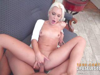 Порно в чулках и лосинах