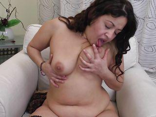 Порно пожилых толстушек